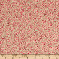 QT Fabrics Coventry Floral & Dot Pink