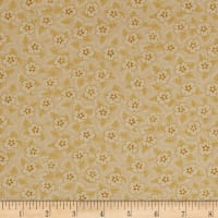 QT Fabrics Coventry Floral & Dot Gold