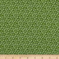 QT Fabrics Coventry Packed Mini Floral Green