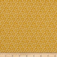 QT Fabrics Coventry Packed Mini Floral Gold