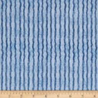 QT Fabrics Hungry Animal Alpha Stripe Blue