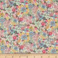 Liberty Fabrics Tea for Two Flowertops Multi