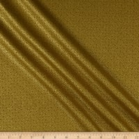 Andover/Makower UK Kimono Lattice Metallic Gold