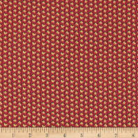 Andover Windermere Petite Floral Burgundy