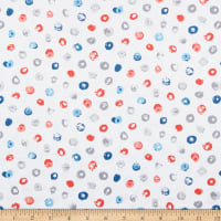 Andover Top Drawer Multi Dot White