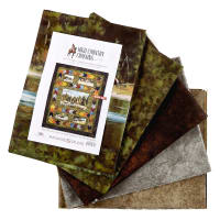 "Maywood Studio Kit High Country Crossing 72"" Quilt Kit Multi"