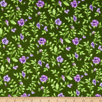 Maywood Studio Emma's Garden Trailing Pansy Green
