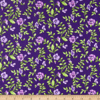 Maywood Studio Emma's Garden Trailing Pansy Dark Purple