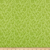 Maywood Studio Emma's Garden Tonal Scroll Green