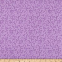 Maywood Studio Emma's Garden Tonal Scroll Violet Red