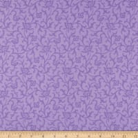 Maywood Studio Emma's Garden Tonal Scroll Purple
