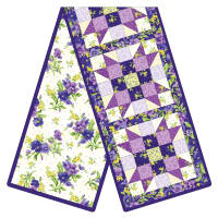 Maywood Studio Quilt Kit Pod Emma's Garden Sister's Choice Table Runner Multi