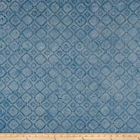 Maywood Studio Mango Tango Batiks Squares On Point Blue Tonal