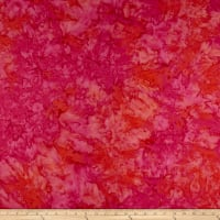 Maywood Studio Mango Tango Batiks Multi Batik Fuchsia Orange