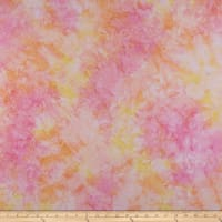 Maywood Studio Mango Tango Batiks Blender Soft Orange/Pink