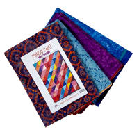 "Maywood Studio Mango Tango Batiks 73"" Quilt Kit Multi"