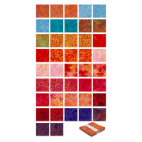 "Maywood Studio Mango Tango Batiks 5"" Charms 42 Pcs. Multi"