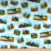 Maywood Studio Quilter's Road Trip Scenic Multi