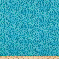 Maywood Studio Quilter's Road Trip Leaves Teal