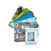 Maywood Studio Kit Quilter's Road Trip Quilt Trip'n Quilt Kit Multi