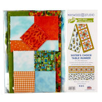 "Maywood Studio Pods Quilter's Road Trip Sister's Choice 13"" x 58"" Table Runner Pod Multi"
