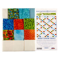 "Maywood Studio Pods Quilter's Road Trip Irish Chain 30"" x 42"" Quilt Pod Multi"