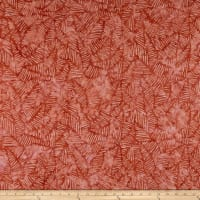 Wilmington Batiks Stylized Puzzle Spiced Red