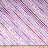 Wilmington Humming Along Diamond Stripe Purple
