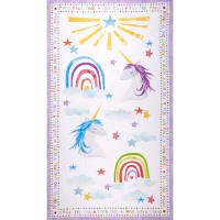 "Wilmington Sparkle Magic Shine Large 24""Panel Multi"