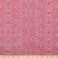 Wilmington Blossom and Bloom Bohemian Lace Pink