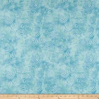 "Wilmington Essential 108"" Backing Whirlpools Teal"