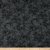 "Wilmington Essential 108"" Backing Whirlpools Black"