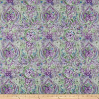 Wilmington Bohemian Dreams Boho Paisley Purple