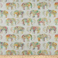 Wilmington Bohemian Dreams Elephants Cream