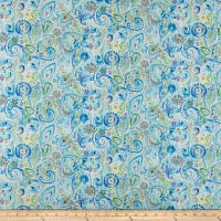 Wilmington Bohemian Dreams Dream Paisley Blue