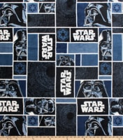Star Wars Darth Vader Blocks Fleece Black
