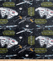 Star Wars Ships Fleece Multi