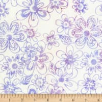 Jacqueline de Jonge Mystical Flower Power Purple