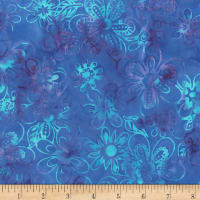 Jacqueline de Jonge Mystical Flower Power Blue