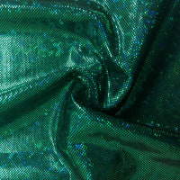 Pine Crest Fabrics Kaleidoscope Dancewear Knit Green/ Black
