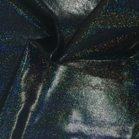 Pine Crest Fabrics Sparkly Jewels Hologram Dancewear Knit Black/ Black