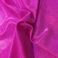 Pine Crest Fabrics Sparkly Jewels Hologram Dancewear Knit Hot Pink/ Hot Pink