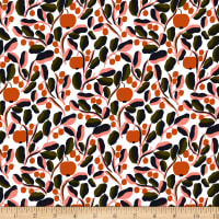 Marimekko Jaspi Acrylic Coated Cotton Pink Multi