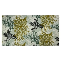 Trans-Pacific Textiles Coral Outdoor Dobby Barkcloth Sage