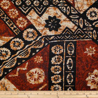 Trans-Pacific Textiles Tapa Mat Barkcloth Brown