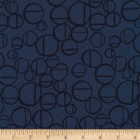 Kaufman Forage Linen Blend Midnight