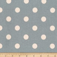 Kaufman Sevenberry Canvas Prints Dot Heavy Weight Grey
