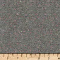 Kaufman Speckle Cotton Jersey Gray