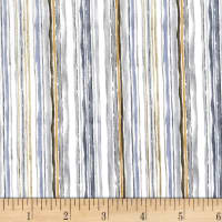Michael Miller Alfresco Aquarelle Stripe Neutral