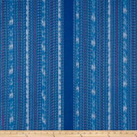 Ralph Lauren Home LCF68410F Java Ikat Stripe Yarn-Dyed Basketweave Java Sea